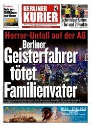 Berliner Kurier 05.11.2018
