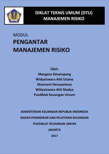 Pengantar Manajemen Risiko_sah