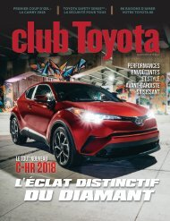 club Toyota - Spring/Summer 2017 French