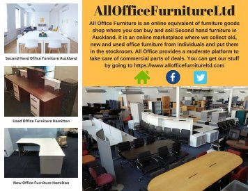 Used Office furniture Removal Hamilton