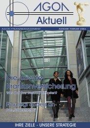 AUSGABE FEBRUAR 2004 - AGON Finanzmanagement Gmbh