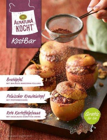 Alnatura kocht – saisonale Rezepte aus der KostBar