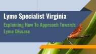 Lyme Specialist Virginia_ Explaining How To Approach Towards Lyme Disease