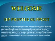 HP-Printer Support Phone Number
