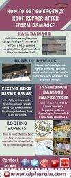 Emergency Storm Damage Roof Repair | Alpha Rain