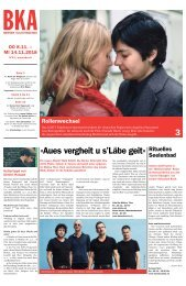 Berner Kulturagenda N° 44