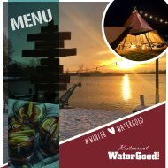 Winter menukaart 2018 - 2019 Restaurant Watergoed