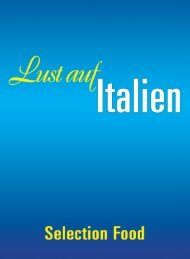 Lust auf Italien - Selection Food