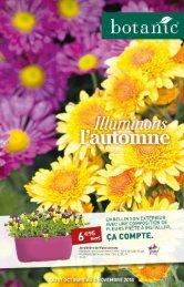 Botanic catalogue 17 octobre-6 novembre 2018