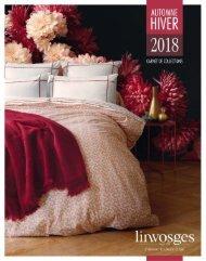 Linvosges catalogue Automne-Hiver 2018