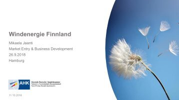 Export: Windenergie Finnland