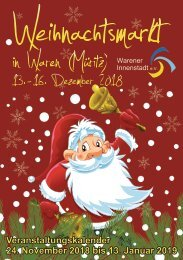 Weihnachtsmarkt Waren (Müritz) 2018 - 2018-11-06
