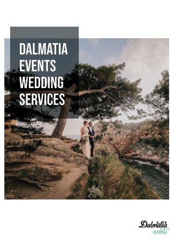 Dalmatia Events Weddings Services