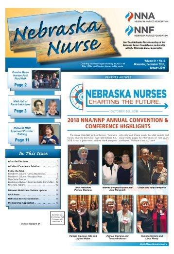 Nebraska Nurse - November 2018