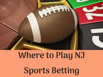 Where to Play NJ Sports Betting