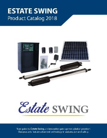 Estate Swing 2018 Product Guide