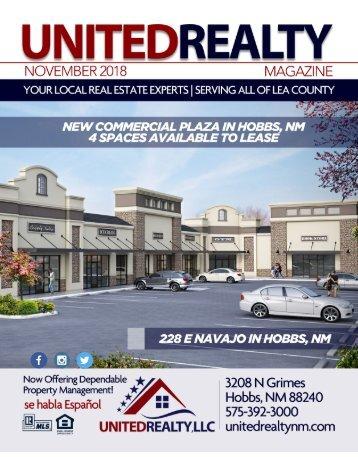 United Realty Magazine November 2018