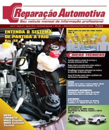 Ano III - Edição 27 - Agosto 2010 - Reparação Automotiva