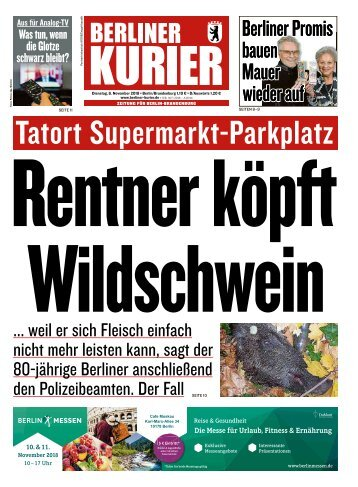Berliner Kurier 06.11.2018