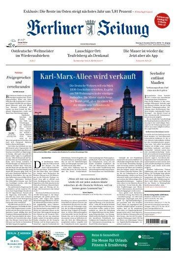 Berliner Zeitung 06.11.2018