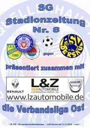 TSV  Stadionzeitung 8-18-ASV-111118