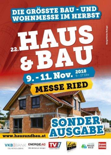 Haus & Bau Ried 2018-11-07