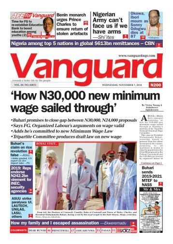 07112018 - 'How N30,000 new minimum wage sailed through'