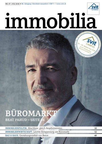 Immobilia 2018/07 - SVIT
