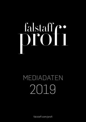 Mediadaten Falstaff Profi 2019