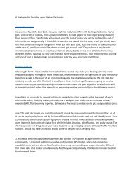 6 Strategies for Deciding upon Marine Electronics6