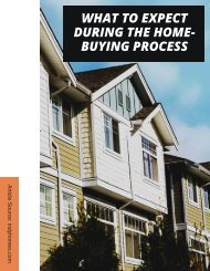 WHAT TO EXPECT DURING THE HOME-BUYING PROCESS
