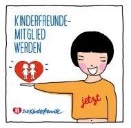Jetzt Kinderfreunde-Mitglied werden!