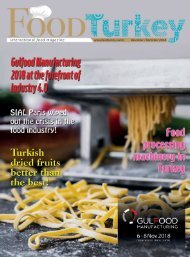 Food Turkey November December 2018