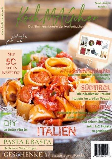KochMAGchen Italien