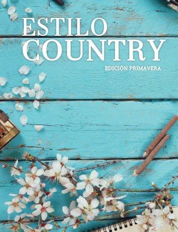 Estilo Country Edición Primavera 2018