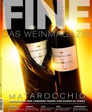 FINE Das Weinmagazin 03/2018 - Die Vignobles Silvio Denz
