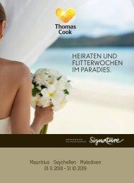 Thomas Cook Heiraten imParadies