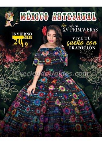 #660 Mexico Artesanal Catalogo Otono Invierno 2018 en USA Precios de Mayoreo