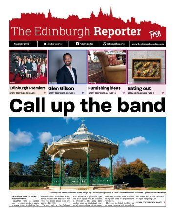 The Edinburgh Reporter - November 2018 print issue