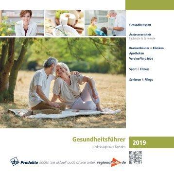 Gesundheitsführer Landeshauptstadt Dresden 2019