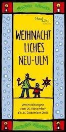Weihnachtliches Neu-Ulm 2018