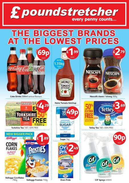The Biggest Brands at the Lowest Prices
