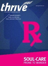 Thrive magazine  Spring/Summer 2017