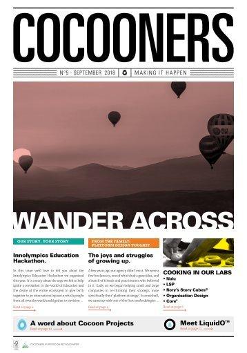 COCOONERS - Making It Happen - No 5, September 2018