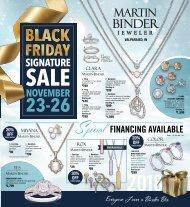 Martin Binder Black Friday Signature Sale