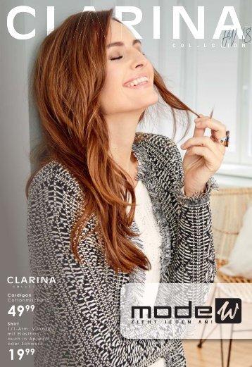 CLARINA Prospekt HW 2018