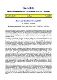 Detmolder Einstufenführung (DEF) - Ketex