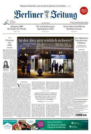 Berliner Zeitung 07.11.2018