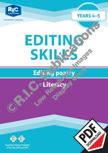 20861_Editing_poetry_Years_4_and_5