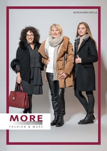 MOREWOMEN.Impuls | Winter 2018